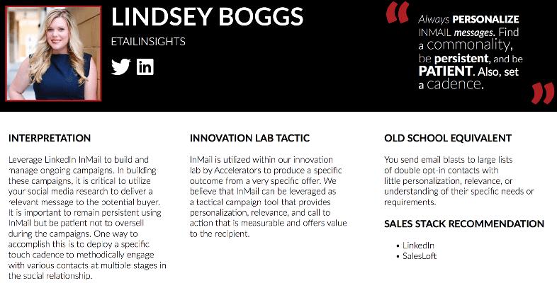 lindsey boggs top 10 social seller