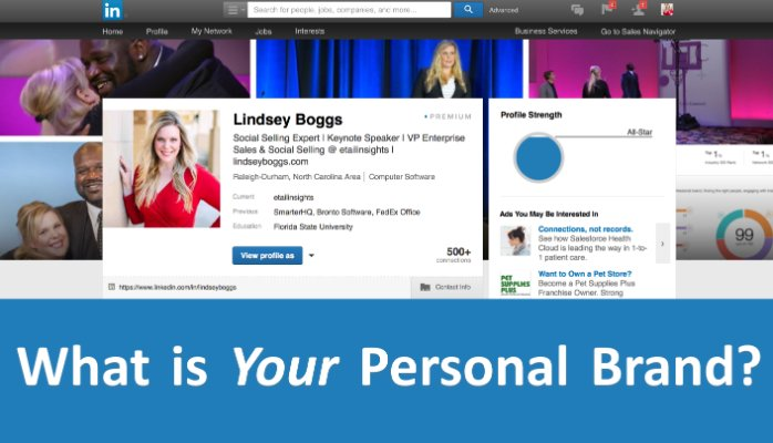 what is your personal brand lindsey boggs